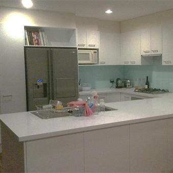 Projects kitchen renovations makeover refacing services for Kitchen renovations western sydney